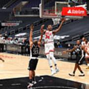 Chicago Bulls v LA Clippers Art Print