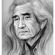 Chief Dan George - Pencil Art Print