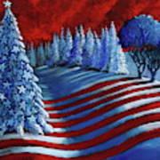 Christmas Glory Art Print
