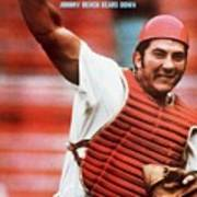 Cincinnati Reds Johnny Bench Sports Illustrated Cover Art Print