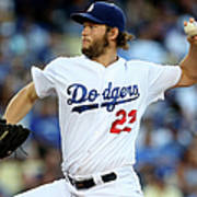 Clayton Kershaw Art Print