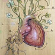 Clover Heart Art Print