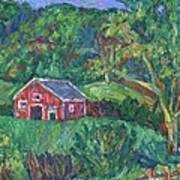 Clover Hollow in Giles County Art Print
