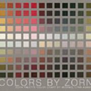 Colors By Zorn Art Print