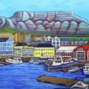 Colors of Cape Town Art Print