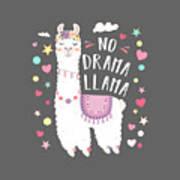 Love Garden Flowers Cute Animals Gift #2039 Pretty Drama Llama Keyring IP02