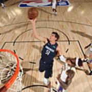 Dallas Mavericks v Los Angeles Lakers Art Print