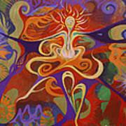 Dance Of Color Art Print
