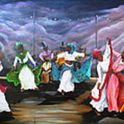 Dance The Pique Art Print
