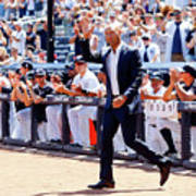 Derek Jeter and Jorge Posada Art Print