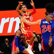 Detroit Pistons v Atlanta Hawks Art Print