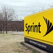 Dish Network Makes $25.5 Billion Offer For Sprint Nextel Art Print