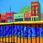 Dutton Street Art Print