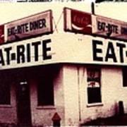 Eat Rite Art Print