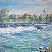 Eel river  of  Indiana Art Print