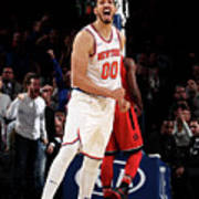 Enes Kanter Art Print