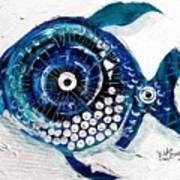 Enter The Icehole Fish Art Print