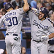 Eric Hosmer And Hunter Renfroe Art Print