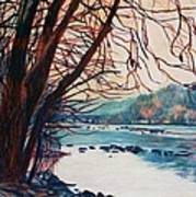 Fall on the New River Art Print