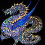 Fancy Dragon 7333 Art Print
