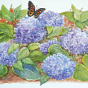 Feast for a Monarch Art Print