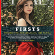 Firsts - Women Who Are Changing the World, Selena Gomez Art Print