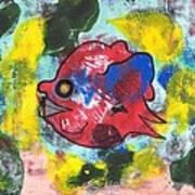 Fish Seeks Fish Art Print