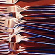 Forks Art Print