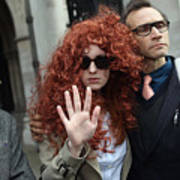 Former Chief Executive Of News International Rebekah Brooks Gives Evidence To The Leveson Inquiry Art Print