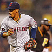 Francisco Lindor Art Print