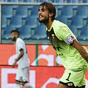 Genoa CFC v AC Cesena - TIM Cup Art Print