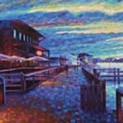 Georgetown Harborwalk Art Print