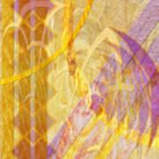 Gold Fusion Art Print