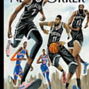 Hoop Dreams in New York Art Print