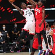 Houston Rockets v Toronto Raptors Art Print
