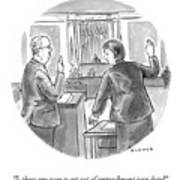 Impeachment Jury Duty Art Print