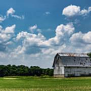 Indiana Barn, #5 Art Print