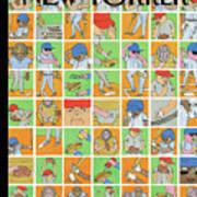 Inside Baseball Art Print