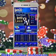 Jadi Jutawan Bermain Poker Online Mixed Media By Aktifqq