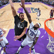Javale Mcgee and Demarcus Cousins Art Print