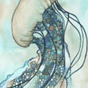 Jellyfish II Art Print