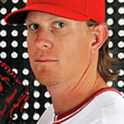 Jered Weaver Art Print