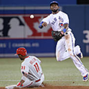 Jimmy Rollins and Jose Reyes Art Print