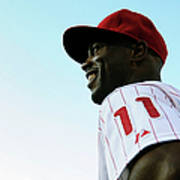 Jimmy Rollins Art Print