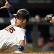 Joe Mauer and Russell Martin Art Print