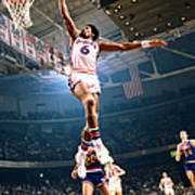 Julius Erving Art Print