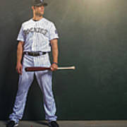 Justin Morneau Art Print