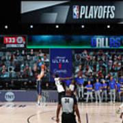 LA Clippers v Dallas Mavericks - Game Four Art Print