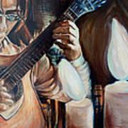 La Guitarra- Portuguese Guitar Art Print