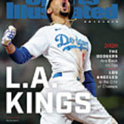 Los Angeles Dodgers Special World Series Commemorative Sports Illustrated Cover Art Print